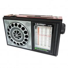 Radio portabil Leotec LT-28, mufa jack - Aparat radio