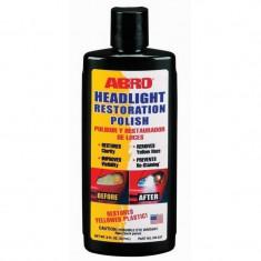 Solutie lustruit faruri din plastic Abro, 237 ml - Cosmetice Auto
