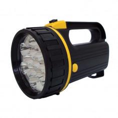 Proiector 13 led Ro Group, diametru 9cm, cu baterii