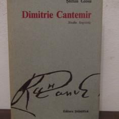 DIMITRIE CANTEMIR -STEFAN GIOSU.STUDIU LINGVISTIC - Studiu literar