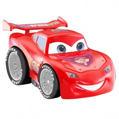 Masina mini Cars Lightning McQueen, telecomanda