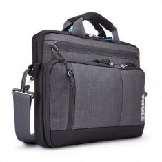 Geanta Thule Stravan pentru MacBook Pro, 13 inch, Gray - Geanta laptop THULE, Neopren, Gri