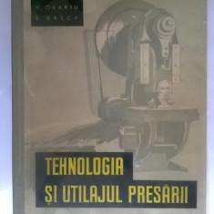 I. Munteanu, s.a. - Tehnologia si utilajul presarii
