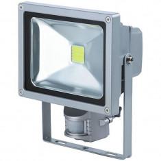 Proiector cu LED, 20 W, ECO LED, senzor de miscare