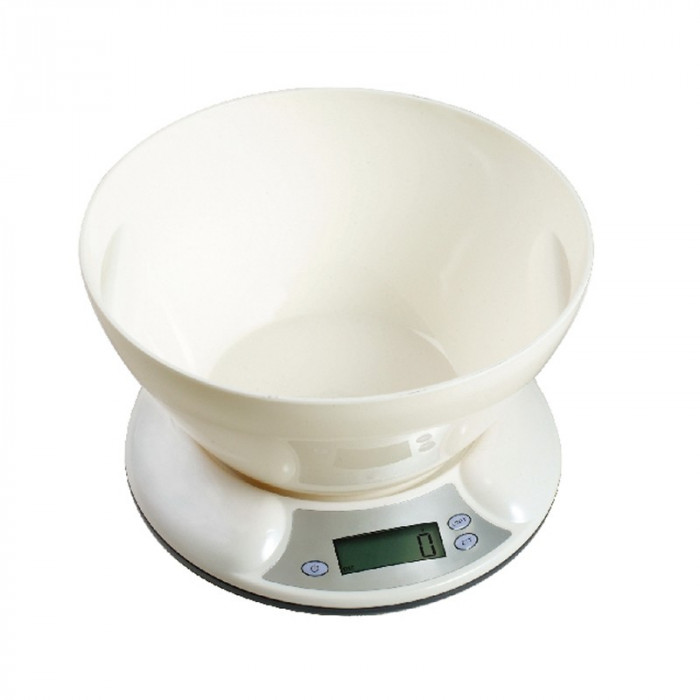 Cantar de bucatarie Dekassa DK-1281, 5 kg, bol foto mare