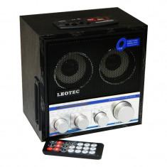Radio portabil Leotec LT-U5UAR, 3 benzi, telecomanda - Aparat radio