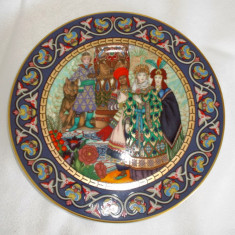 Farfurie - decoartiva / de colectie - Heinrich / Villeroy and Boch - Portelan, Decorative