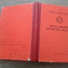 Regulamentul disciplinei militare 1973