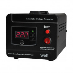 Stabilizator de tensiune Well, 1000 VA - Stabilizator tensiune