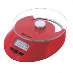Cantar de bucatarie Dekassa DK-1288, 5 kg, afisaj digital