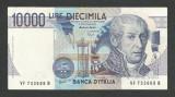 ITALIA  10000 10.000 LIRE 1984 ( 1994 ) [2] P-112c  , XF+  Semn  Fazio Speziali