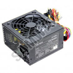 Sursa MS-Tech 430W, SP-4300, 4 x SATA, 3 x Molex, PCI-e, PFC, GARANTIE 1 AN! - Sursa PC MS Tech, 450 Watt