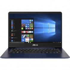 Laptop ASUS 14'' ZenBook UX430UQ, FHD, Core i7-7500U, 16GB DDR4, 512GB SSD, GeForce 940MX 2GB, Win 10 Pro, Blue