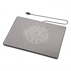 Cooler notebook Pad Hama, Slim, 13.3-15.6 inch, USB, Gri - Masa Laptop