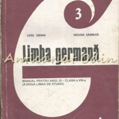 Limba Germana. Manual Pentru Anul III - Clasa a VIII-a - Lidia Eremia - Dictionar