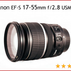 Canon EF-S 17-55mm f/2.8 USM IS - Obiectiv DSLR