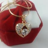 Lantisor pandantiv Luxury Brilliant Heart Cod produs: CLS2