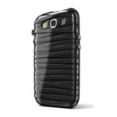 Carcasa RubberBand Samsung Galaxy S3 Musubo, Negru
