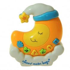 Lampa de veghe muzicala, model semiluna - Lampa veghe copii