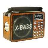 Radio portabil Waxiba XB-2091URT, 3 benzi