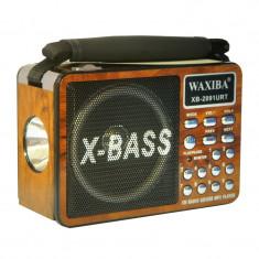 Radio portabil Waxiba XB-2091URT, 3 benzi - Aparat radio