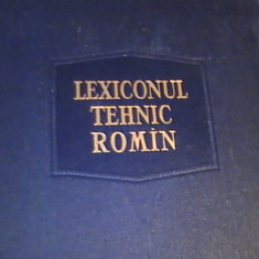 LEXICON TEHNIC ROMAN- VOL4-INTOCMIT-A.S, I, T.-COORD. REMUS RADULET-572 PG A 4