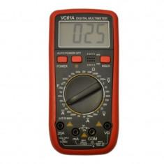 Multimetru digital VC61A, LCD, 10 functii