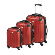 Set 3 trolere Miami Princess Traveller - Set rechizite
