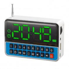 Radio cu ceas Wster WS-1513, LCD, suport Mp3/WMA - Aparat radio
