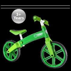 Bicicleta fara pedale Yvelo Green YBike - Bicicleta copii