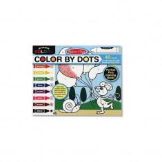 Bloc cu desene de colorat - Jocuri Forme si culori
