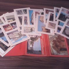 SET/LOT CARTI POSTALE 18 BUC. MOSCOVA - Carte postala tematica, Necirculata, Printata