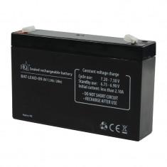 Acumulator plumb acid HQ, 6 V, 7.2 Ah