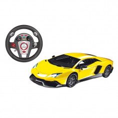 Masina Lamborghini Aventador, scara 1:12, telecomanda