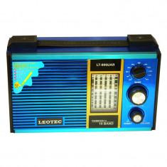 Radio portabil Leotec LT-906UAR, suport card SD/USB