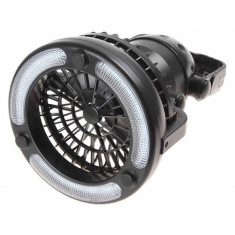 Felinar led cu ventilator, 18 x LED