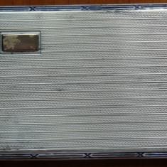 Tabachera din argint , interbelica ; 153 grame