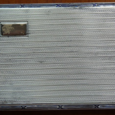 Tabachera din argint, interbelica ; 153 grame