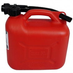 Canistra plastic cu palnie flexibila Ro Group, 5 L - Canistra Benzina