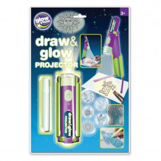 Proiector desen cu pix fosforescent, Glowstars Company - Jocuri Forme si culori