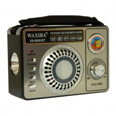 Radio portabil Waxiba XB-6066URT, lanterna incorporata - Aparat radio
