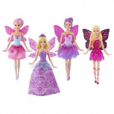 Set 4 papusi Mariposa Barbie, 15 cm - Papusa