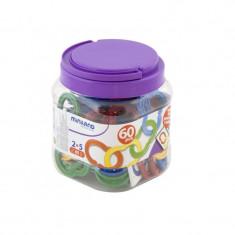 Zale din plastic - Jocuri Forme si culori MINILAND