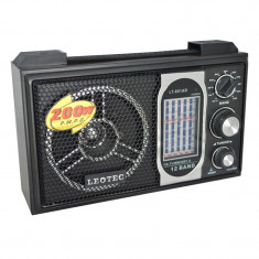 Radio portabil Leotec LT-801AR, mufa jack - Aparat radio