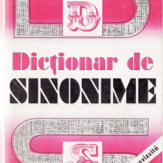 DICTIONAR DE SINONIME de GH. BULGAR - Dictionar sinonime