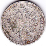 1 Florin Forint Gulden 1859 B Austria Ungaria argint 12, 3 gr.cotatie ridicata 2, Europa