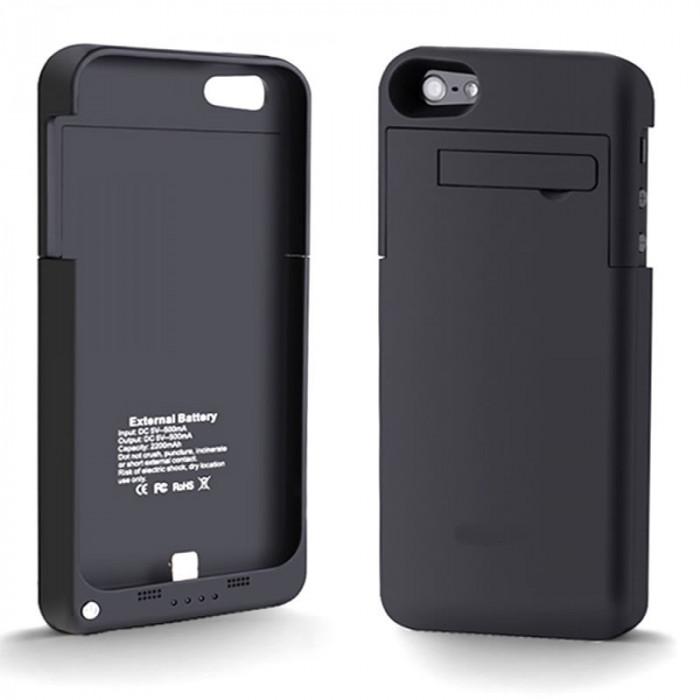 Baterie externa pentru iPhone 5, 2200 mAh foto mare