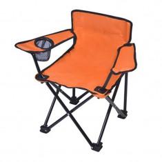 Scaun pliant pentru copii, suport pentru pahare - scaun camping