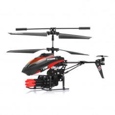 Elicopter micro cu rachete V 398, LED, telecomanda - Elicopter de jucarie