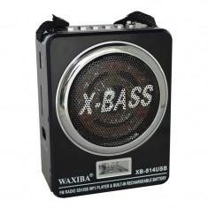 Radio Mp3 portabil Waxiba XB-914USB, mufa jack